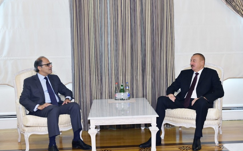 Prezident İlham Əliyev BVF-nin Orta Şərq və Mərkəzi Asiya Departamentinin direktorunu qəbul edib - YENİLƏNİB