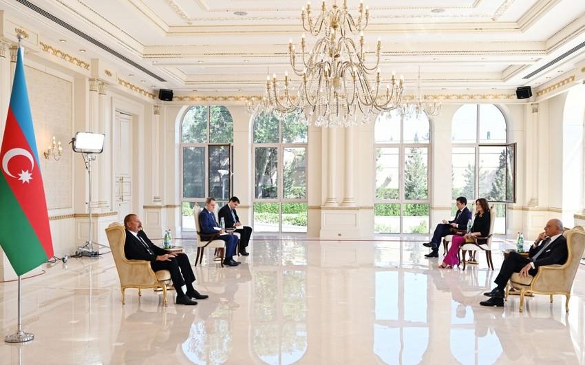 Алиев: Италия становится одним из основных рынков для нашего природного газа