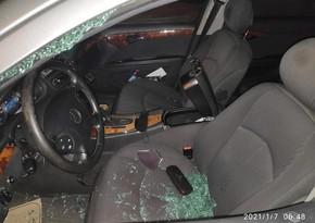 Sumqayıtda jurnalistin avtomobili qarət edilib