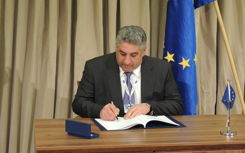 Azərbaycan Avropa Şurasının idmanla bağlı konvensiyasına qoşulub