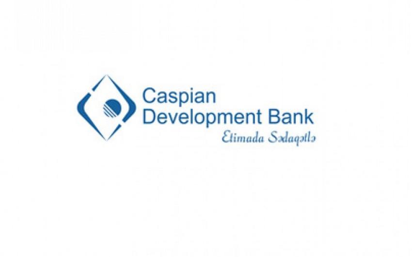 Caspian Development Bank manat kreditlərini bahalaşdırıb
