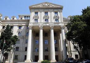 МИД: Повторный визит министра Армении в Азербайджан может дорого обойтись армянской стороне