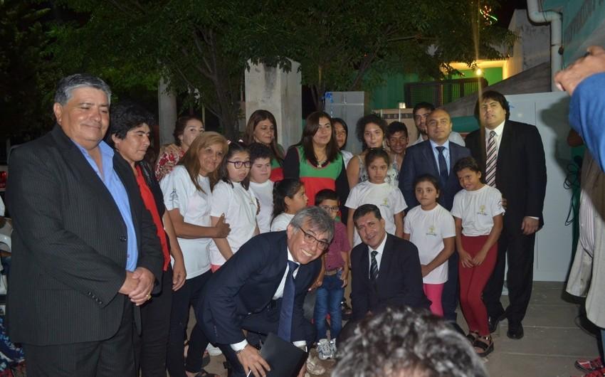 AIDA Argentinada fiziki məhdudiyyətli uşaqlara yardım göstərib