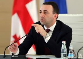Irakli Garibashvili to visit Belgium first