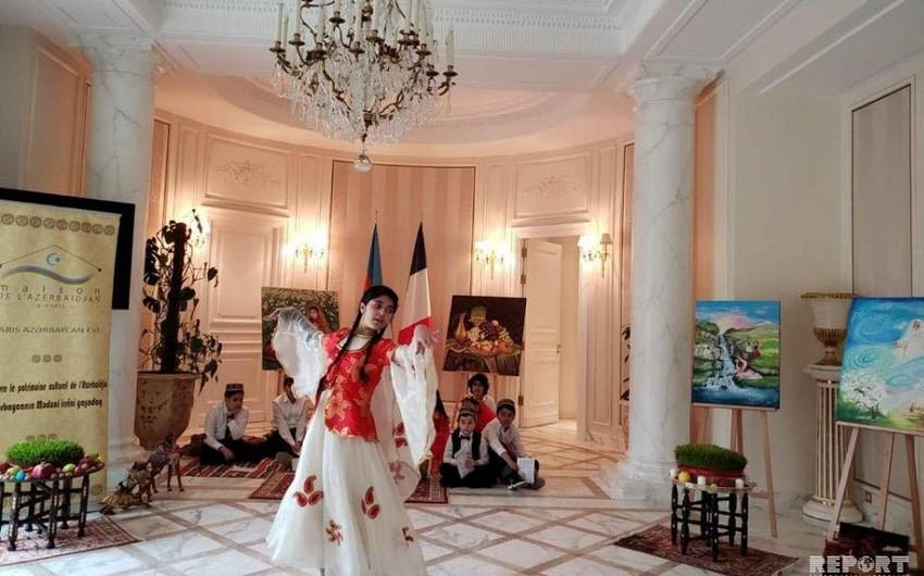 Parisdə Azərbaycan məktəbində Novruz bayramı qeyd edilib