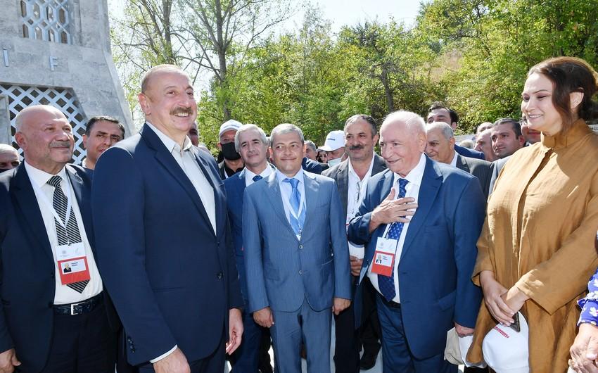 Глава Азербайджана: В следующем году мы торжественно отметим 270-летие Шуши