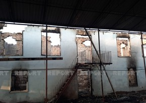 Hacıqabulda yaşayış evi yanıb