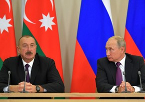 Ilham Aliyev and Vladimir Putin hold phone conversation
