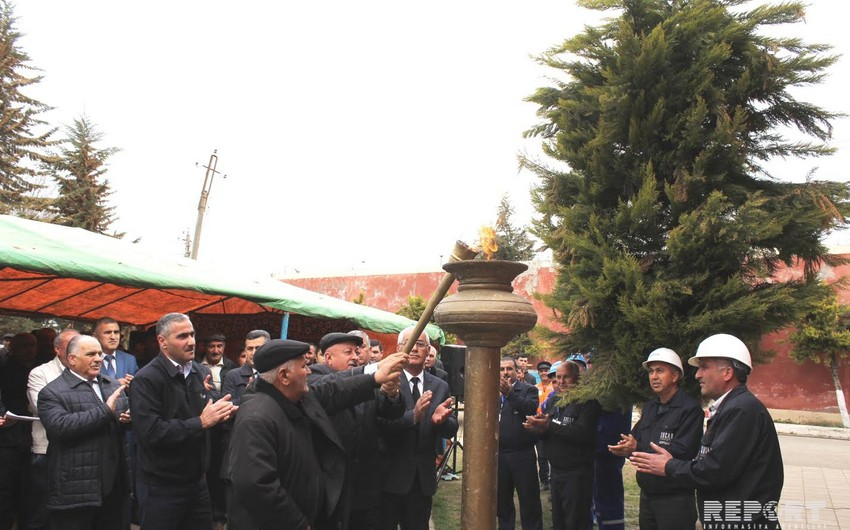 Masallıda iki kəndə təbii qaz verilib - FOTO