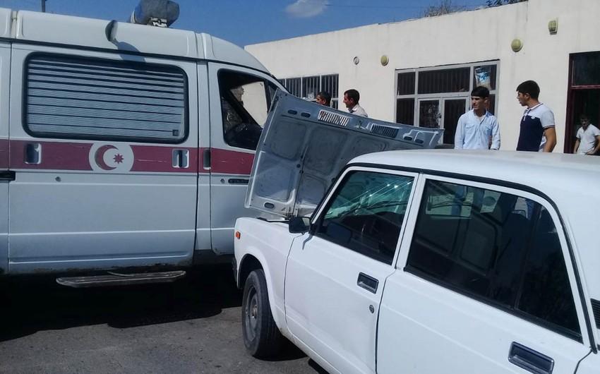 В Барде машина скорой помощи попала в аварию, есть раненые - ФОТО