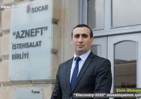 """""""Azneft""""in şöbə rəisi """"Discovery-2020"""" qrant müsabiqəsində II yeri tutub"""