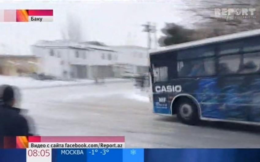 Report İnformasiya Agentliyinin videomaterialı Rusiyanın Birinci kanalında nümayiş etdirilib - VİDEO