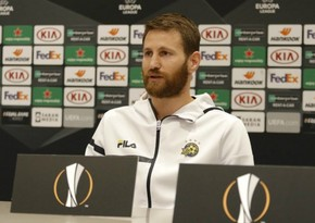 Makkabinin kapitanı: Hazırda yalnız Qarabağla oyunu düşünürük