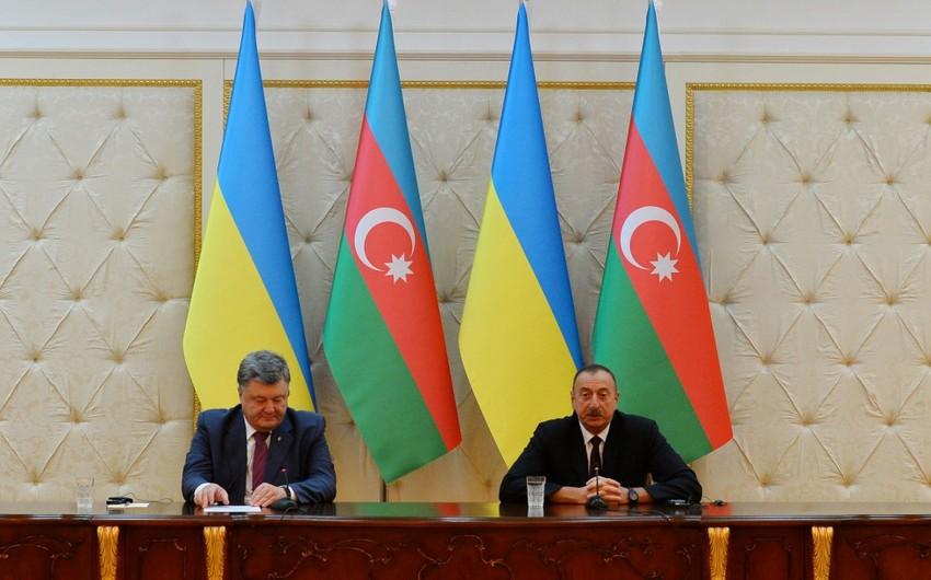 Prezident İlham Əliyev: Ukrayna-Azərbaycan əlaqələrinin inkişafı istiqamətində çox önəmli addımlar atılıb