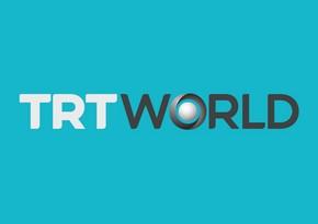 """""""TRT World"""" kanalı """"Azerspace-1"""" peyki ilə yayıma başlayıb"""