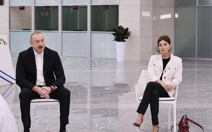 Президент Ильхам Алиев: В поддержку врачей проводятся и будут проводиться различные акции
