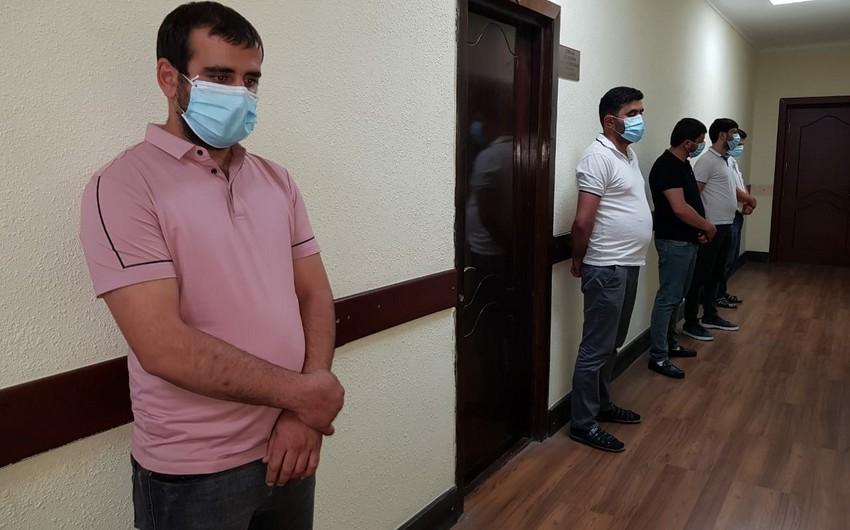 Şəmkirdə karantin qaydalarını pozan çay evi aşkarlandı - VİDEO