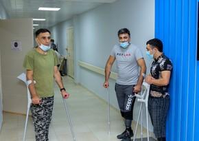 Daha bir qrup qazi yüksək texnologiyalı protezlərlə təmin olunub