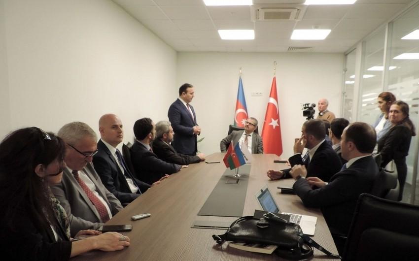 """SOCAR AQŞ"" Ankarada ofis açıb"