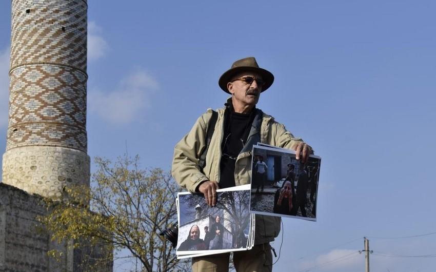 В Джебраиле открылась фото-выставка Резы Дегати на тему армянской оккупации