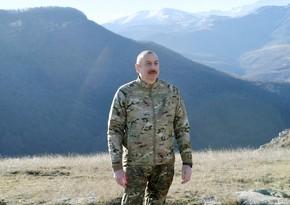 Ильхам Алиев: Армянского населения в Шуше, можно сказать, не было
