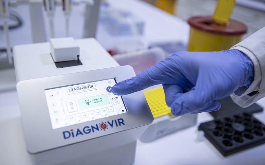 Türkiyədə koronavirusu 10 saniyəyə təyin edən cihaz hazırlandı