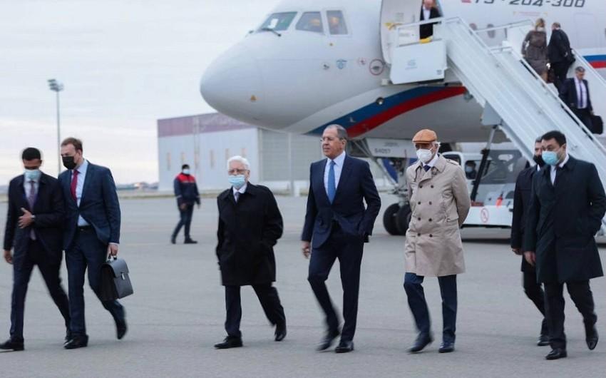 Сергей Лавров прибыл в Баку