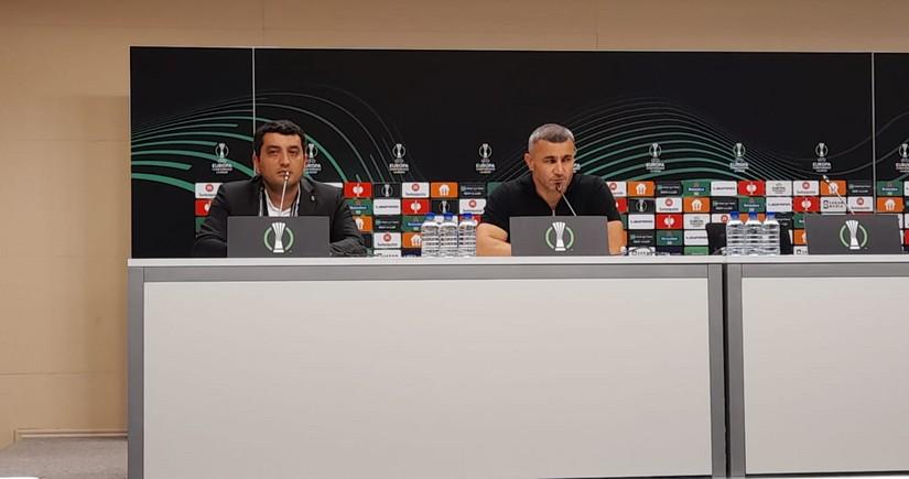 На пресс-конференции после матча Карабах - Базель произошел инцидент