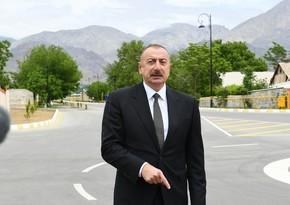 Prezident İlham Əliyev Azərbaycan Televiziyasına müsahibə verib - YENİLƏNİB