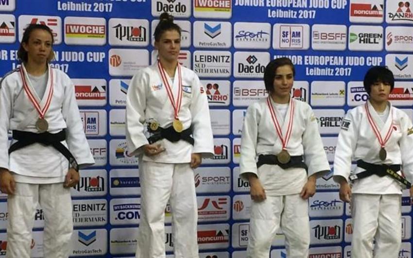 Azərbaycanın qadın cüdoçusu Avropa kubokunda bürünc medal qazanıb