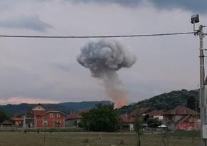 Пожар на военном предприятии в Сербии потушили