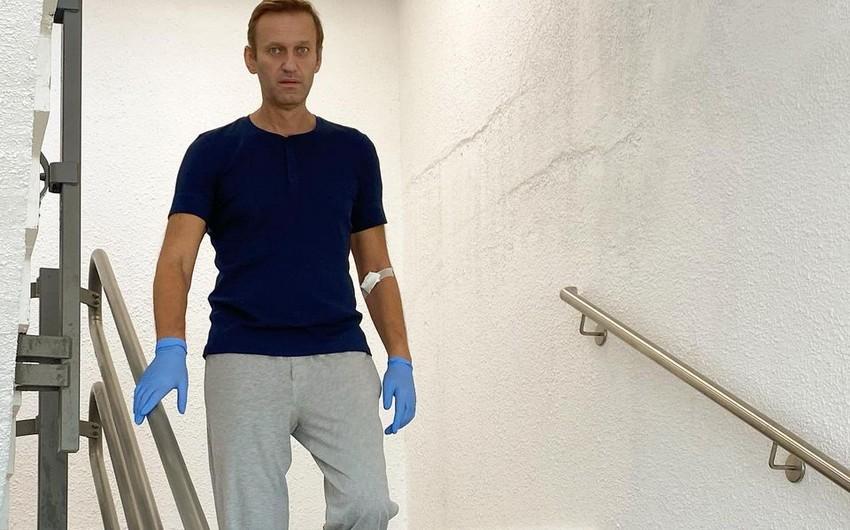 Навального выписали из клиники