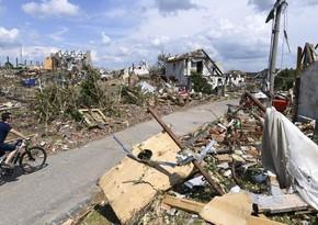 В Чехии подсчитали сумму ущерба от торнадо на юго-востоке страны