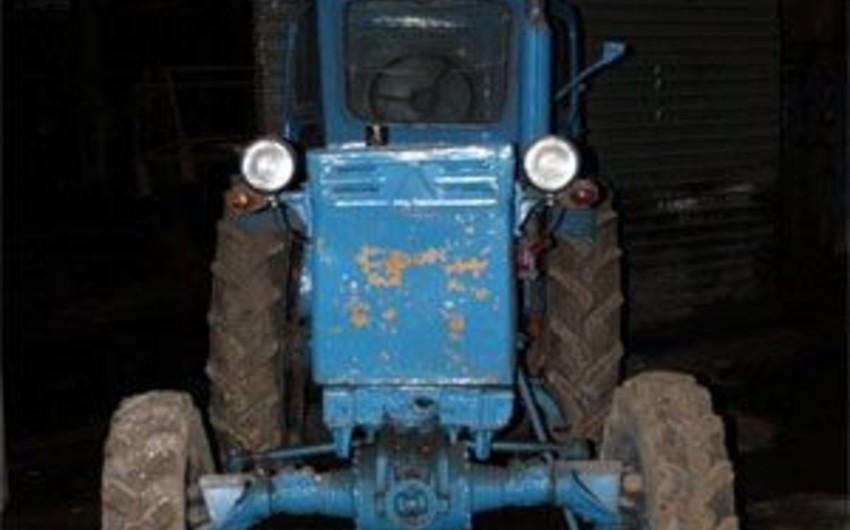 Daşkəsəndə traktor aşması nəticəsində sürücü ölüb