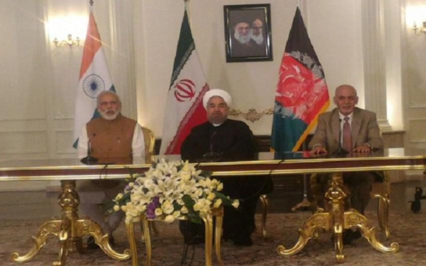 İran, Hindistan və Əfqanıstan arasında nəqliyyat daşımalarına dair üçtərəfli müqavilə imzalanıb