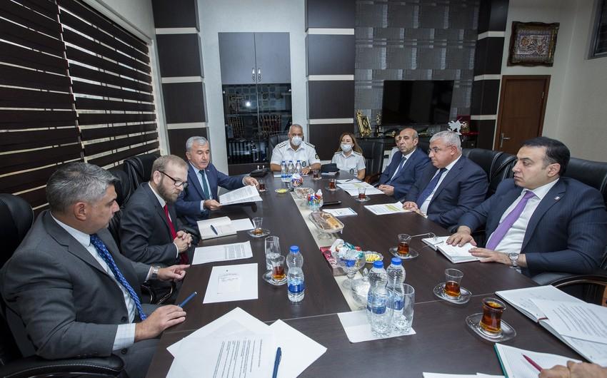 Delegation of US Drug Enforcement Administration visiting Azerbaijan