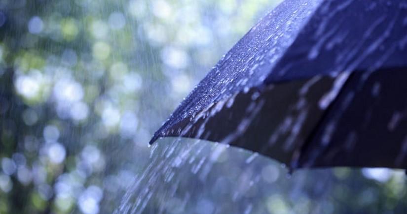Bölgələrə yağış, dolu yağıb - FAKTİKİ HAVA