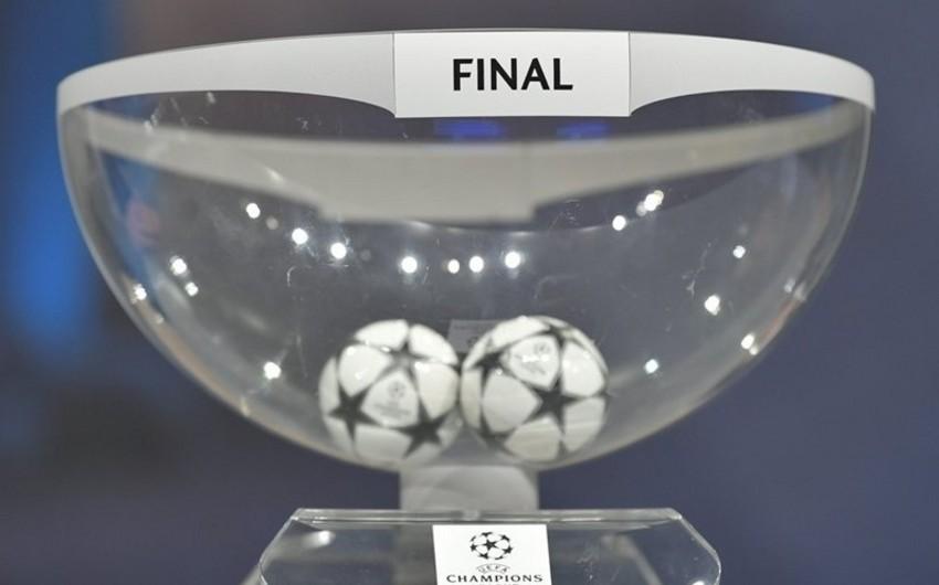 Çempionlar Liqasının 1/8 final mərhələsinin püşkü atılıb