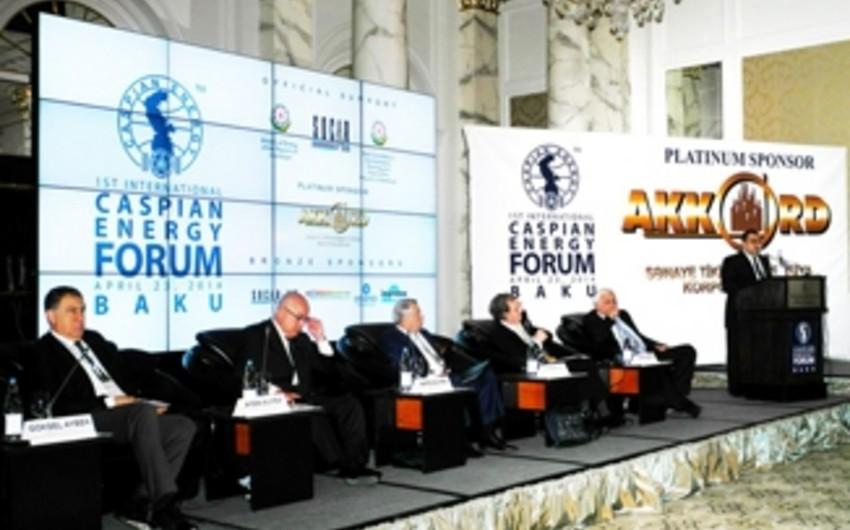 Martda Bakıda Beynəlxalq Xəzər Enerji Forumu keçiriləcək