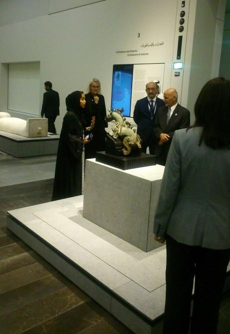 Louvre museum opens in Abu Dhabi