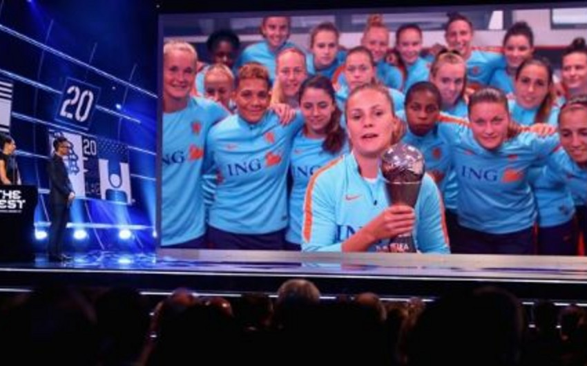 Like Martens gets The Best FIFA Women's Player Award