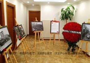 """İstanbuldakı Baş Konsulluqda """"Qanlı yanvar"""" adlı fotosərgi təşkil edilib"""