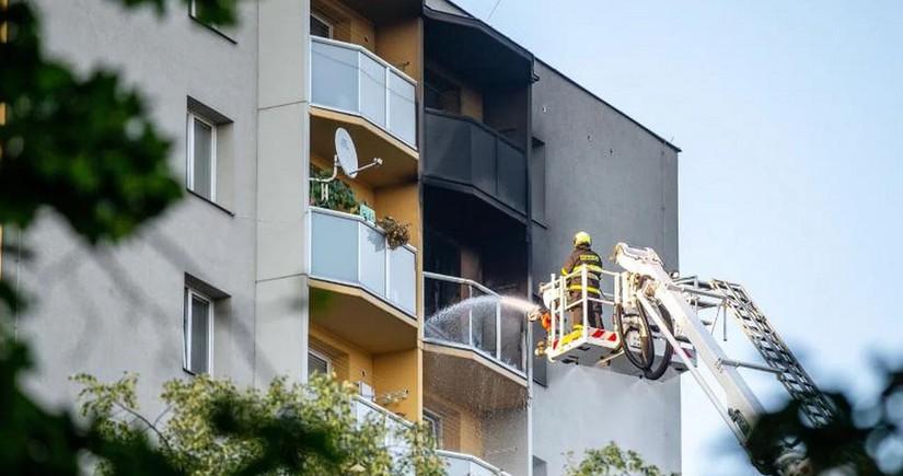 В Чехии при пожаре в жилом доме погибли более 10 человек