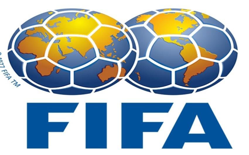 Futbol üzrə Azərbaycan milli komandası FİFA reytinqində 4 pillə geriləyib