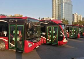 Бакинское транспортное агентство запустило на линию резервные автобусы