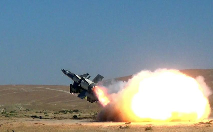 Azərbaycan Ordusunun Zenit-Raket Qoşunlarında döyüş atışlı təlimlər keçirilib