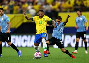 ЧМ-2022: Неймар помог Бразилии разгромить Уругвай