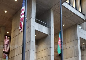 Перед здание муниципалитета Бостона поднят флаг Азербайджана - ФОТО