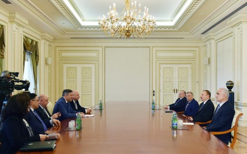 Prezident İlham Əliyev Polşa Baş nazirinin müavinini qəbul edib
