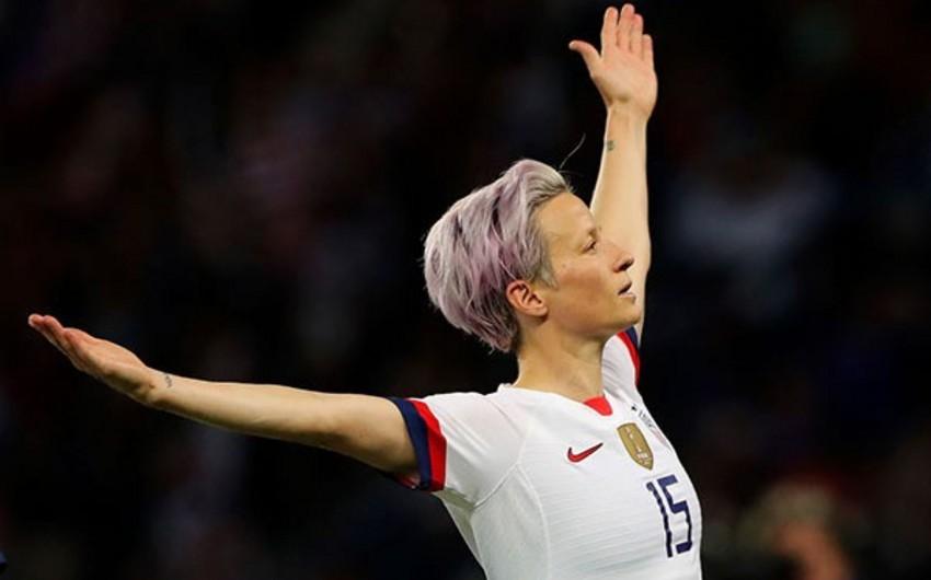 ABŞ millisinin futbolçusu ölkənin vitse-prezidenti olmağa hazırdır